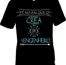 Camisa Meio Engenheiro. Un proyecto de Diseño de Pedro Henrique         - 23.05.2017