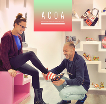 ACOA App & Web. A Photograph, and Web Design project by Emeline Bon         - 24.05.2017