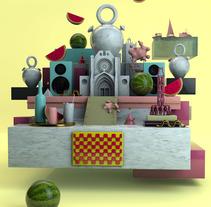 Mi Proyecto del curso: Dirección de Arte con Cinema 4D. A Illustration, Motion Graphics, 3D, and Vector illustration project by Jordi Salvador         - 24.05.2017