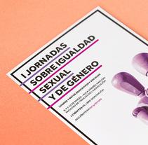 I Jornadas sobre Igualdad Sexual y de Género. Un proyecto de Fotografía, Diseño gráfico y Diseño de la información de Xana Morales - 01-03-2017