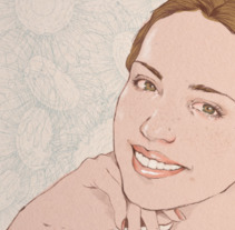 Ella siempre sonreía. A Illustration project by Judith González - 02-06-2017