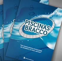 Carpeta Institucional | Piscinas Bracco. A Graphic Design project by Roberto Matías Carió - 07-06-2017