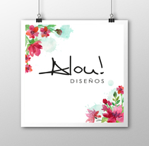Alou! Diseños. A Graphic Design project by Lorena Alejandra Ramirez Piña         - 09.06.2017