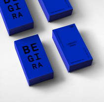 Begira identity design. A Br, ing, Identit, Graphic Design, and Web Design project by Rebeka  Arce         - 14.06.2017