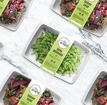 Vida ocupada, comida facilitada - My Prepd. Un proyecto de Dirección de arte, Diseño gráfico y Packaging de Lo Kreo - Estudio Creativo  - 19-06-2017