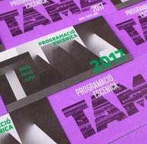 TAMA. Un proyecto de Diseño editorial, Diseño gráfico y Tipografía de Ángelgráfico          - 22.06.2017