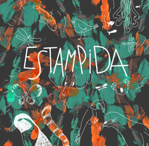 Estampida. A Illustration, Editorial Design, and Education project by Verónica Cámara Beviá - 15-06-2017