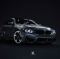 BMW Black Series. A 3D, and Automotive Design project by Alberto Luque         - 29.06.2017