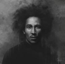 Serie de Retratos . A Illustration project by Zebenzui De La Hoz Rodríguez         - 04.07.2017