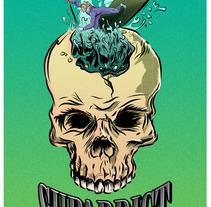 Supaddict T-shirt. Um projeto de Ilustração e Direção de arte de Toni Buenadicha         - 05.07.2017