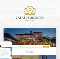 Casas de Lujo. Sitio web.. A Design, UI / UX, Br, ing, Identit, Interactive Design, Web Design, and Web Development project by Adrián Miranda Rodríguez         - 07.07.2017
