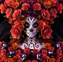 Catrina. A Illustration, and 3D project by Fer Aguilera Reyes         - 11.11.2014