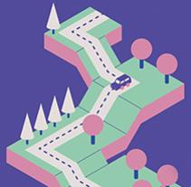Propuestas de carteles para una campaña por la educación vial de la  DGT y Mulafest. Un proyecto de Diseño, Ilustración, Publicidad, Diseño gráfico e Ilustración vectorial de Lidia Lobato - 17-04-2017