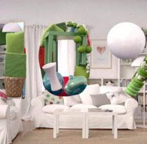 Ikea - Livingroom. A Advertising, 3D, Animation, Post-Production, and VFX project by Hugo García         - 18.10.2013