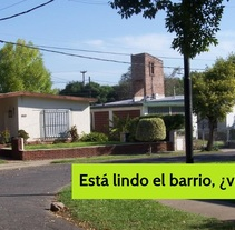 """Está lindo el barrio, ¿viste?"". A Writing project by Malén D'Urso         - 15.11.2014"