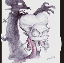 Caricaturesco. Um projeto de Ilustração e História em quadrinhos de Òscar Zurdet         - 20.07.2017