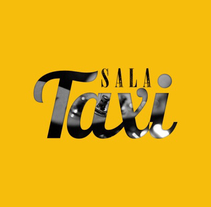 Sala Taxi - Poster + Logo. Um projeto de Design, Ilustração, Br, ing e Identidade, Design gráfico e Ilustración vectorial de Luis Lara Lara         - 13.03.2015