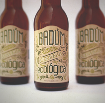 CERVEZA ARTESANAL BADÚM ECO. A Graphic Design, and Packaging project by Pistacho Studio  - 26-07-2017