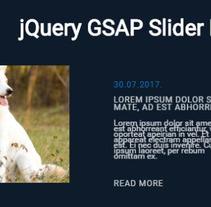 Slider. Un proyecto de Diseño y Diseño Web de Lisi De La Roz - 02-08-2017