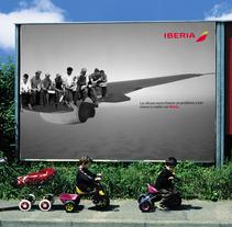 Idea creativa y nueva campaña para Iberia. A Advertising, and Graphic Design project by tatimark         - 03.08.2017