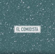 EL COMIDISTA. Un proyecto de Motion Graphics, Cine, vídeo, televisión, Animación, Diseño gráfico, Post-producción, Vídeo y Televisión de Santi Borras Palom - 17-08-2017
