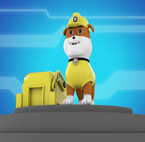 Rubble of the Pawpatrol. Un proyecto de Diseño y 3D de Julian Vargas Cataño - 21-08-2017
