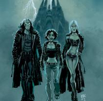 El Baile del Vampiro. Un proyecto de Comic de Sergio Bleda - 22-08-2017