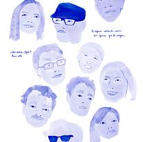 Allí, ¿dónde?. Um projeto de Ilustração de Patricia Fernández         - 05.08.2015