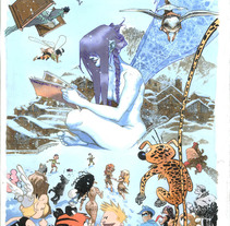 Cartel para La Massana 2006. A Illustration project by Sergio Bleda - 30-08-2017