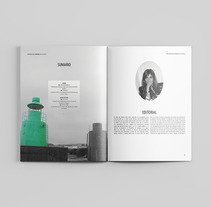 Revista La Casa de Simona . A Editorial Design project by Anita Acosta         - 31.08.2016