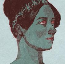 Ada Lovelace, la primera persona en definir un lenguaje de programación. Un proyecto de Ilustración de Irene Calvo         - 09.09.2017