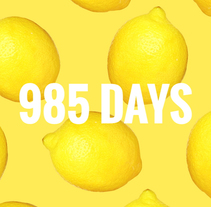 985 DAYS. A Music, Audio, Film, Video, TV, Art Direction, Costume Design, Film Title Design, Post-Production, Set Design, Writing, Video, TV, Sound Design, and Production project by Clim  - 12-09-2017
