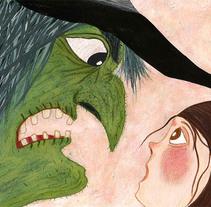 Mi Proyecto del curso: El mago de Oz. Un proyecto de Ilustración de Orie Contrs - 14-09-2017