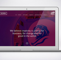 DESARROLLO DEL WEBSITE PARA EL FESTIVAL DE PUBLICIDAD CANNES LIONS SPAIN. A Web Design, and Web Development project by Estudio Madtypper         - 18.09.2017