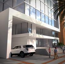 Torre ferrara . Um projeto de 3D, Arquitetura, Arquitetura de interiores e Design de interiores de jordi reglá - 18-09-2017