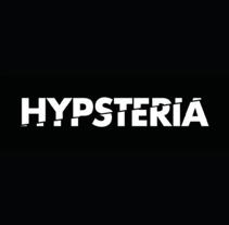 Imagen Hypsteria Dj's. Um projeto de Direção de arte, Br, ing e Identidade e Design gráfico de Mónica Ríos Herrera         - 21.05.2016