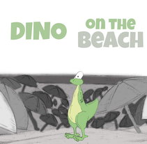 Animación Trogli (Dino on the beach). Un proyecto de Animación de Trogli         - 24.09.2017