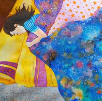 Buenas noches. Un proyecto de Ilustración de Kandra - 27-09-2017