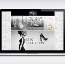 DISEÑO DE WEB_Serena White Haven. Um projeto de Design de Eduardo Viveros Carrasco         - 26.09.2016