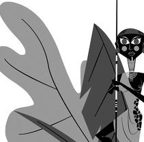 BLACK & WHITE vol. 4. Un proyecto de Ilustración, Diseño editorial y Diseño gráfico de Jhonny  Núñez - 27-09-2017