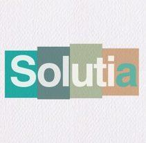 Identidad corporativa para; SOLUTIA gestión.. Un proyecto de Br, ing e Identidad y Diseño gráfico de Comboi Gràfic         - 01.10.2017