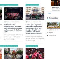 Fotógrafo Especial Informativo Carnaval de Badajoz. A Photograph project by Alejandro de Mena Dávila         - 01.02.2015