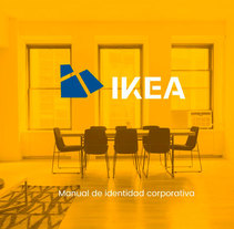 IKEA, Identidad corporativa. A Design, Art Direction, Br, ing, Identit, Fine Art, Graphic Design, Marketing, T, pograph, Signage design&Icon design project by Lola Téllez - 10-10-2017