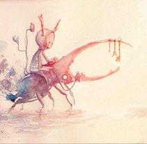 Los cinco magos. Un proyecto de Ilustración de Héctor San Andrés Jaime         - 05.12.2015