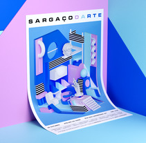 Sargaçodarte. A Illustration, 3D, Animation, and Graphic Design project by Serafim Mendes - 05-10-2017