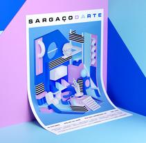Sargaçodarte. A Illustration, 3D, Animation, and Graphic Design project by Serafim Mendes         - 05.10.2017
