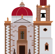 Iglesia Pinos. A Icon design project by juan manuel garcia - 16-10-2017