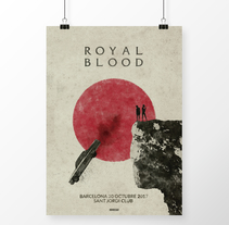 Royal Blood Barcelona 30/10/17. Um projeto de Design gráfico de Noir  Design         - 25.10.2017