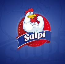 Salpi - Logotipo Restaurante. Un proyecto de Diseño gráfico de Jhonatan Andrés González Ordoñez         - 29.10.2017