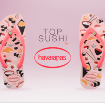 Havaianas - Top Sushi (Video). A Art Direction project by Jhonatan Andrés González Ordoñez         - 29.10.2017
